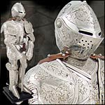 Full Suits of Miniature Armour