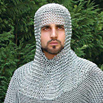 Chainmail Coifs, Chain Mail Coifs and Chainmail mantles, head protection