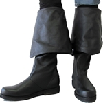 Leather Pirate Boots
