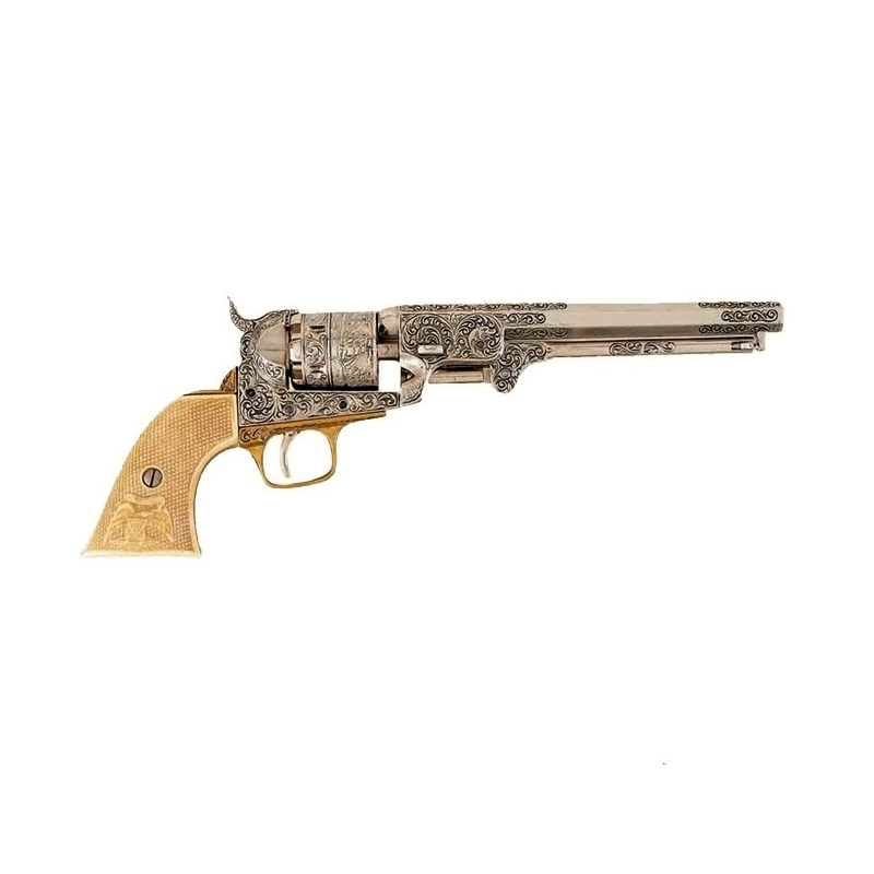 Colt Revolver Rifle Colt 1851 Revolver Engraved