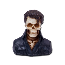 Elvis Skeleton Statue 18-7607
