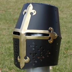 Sca Black Roman Helm 53