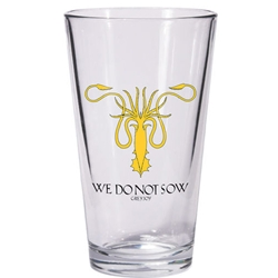Game of Thrones Greyjoy Pint Glass