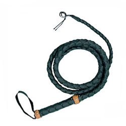 Top Grain Leather Bullwhip Brown Medium
