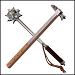 Medieval and Renaissance Flails, Maces and War Hammers