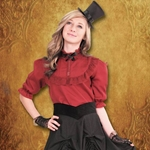 Piccadilly Steampunk Blouse 101591