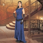 Blue Hellfire Gown 101631