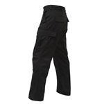 Tactical BDU Pant - Black, BDU Pant, B.D.U. Pant, BDU Pants, B.D.U., B.D.U.'s, fatigue pant, bdu fatigues, b.d.u. fatique pants, fatigues, cargo pants, cargo fatigue pants, battle dress pants, poly cotton pants, uniform pants, bdu fatigues, military fatigue pants, military pants