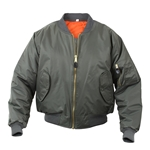 MA-1 Flight Jacket - Sage Green, MA-1 Flight Jacket, Flight Jacket, MA-1 Jacket, Jacket, Jackets, MA-1, MA1, MA-1 Bomber Flight Jacket, Flight Jackets, military jacket, bomber jacket, military jackets, mens outerwear, military outerwear, m a 1, ma a1 jacket, ma-1 military flight jacket, a-1 flight jacket, nylon flight jacket, mens flight jacket, aviator jacket, flight bomber jacket, coat