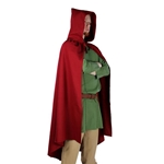 Medieval LARP Cloak - Red Cotton
