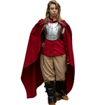 Medieval LARP Cape - Dark Red