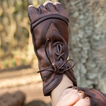 Leather Theif Gloves - Brown