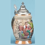 Barrel Stein From Germany 143-3015