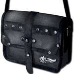 Empire Captainette Purse Black Canvas Alchemy LG61