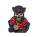 Pirate Skeleton Bust 18-7604