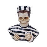 Prisoner Skeleton Bust Statue 18-7610