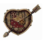Steampunk Clockwork Heart