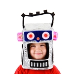 Robotman Costume Hat