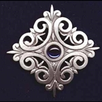 Renaissance Scroll Brooch 106.0575