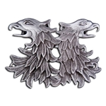 Double Griffin Head Cloak Clasp 130.0720