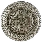 Pewter Viking Brooch 21-2347
