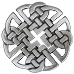 Pewter Celtic Knot Brooch 106.0658
