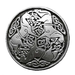 Celtic Horse Knotwork Epona Brooch 106.0602