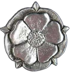 Tudor Rose Button 107.0670