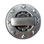Steampunk Gizmo Pewter Button 107.1065