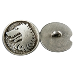 Wolf Medieval Button 107.1410
