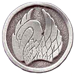 Swan Pewter Pin 116.0608