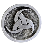 Triple Horn of Odin Pewter Pin 116.0698