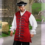 Captain England Vest Plus Size