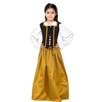 Girl's Cotton Medieval Skirt C1267