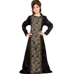 Child's Brocade Medieval Gown C1273