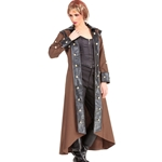 Steampunk Trench Coat C1353