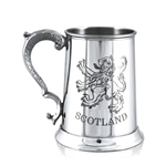 Scotland Lion Pewter Tankard One Pint  SG324