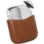 Novus Pewter Flask 5 1/2 Ounces
