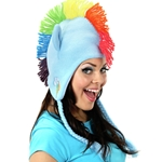 Rainbow Dash Laplander Hat