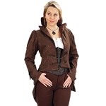 Ladies German Airship Tailcoat - Steampunk Coat