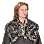 Wolf Fur Mantle - Faux Fur