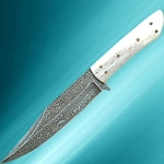 Damascus Cowboy Knife 401398