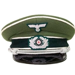 German WWII Wehrmacht Officer's Cap Reproduction 26-802206
