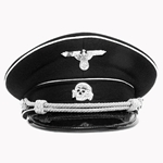 German WWII SS Visor Cap Reproduction