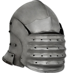 Bellows Face Sallet Helmet, Large 29-AB0344