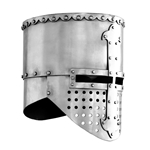 Crusader Flat Top Helmet, Large AB0352