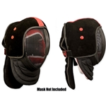 HEMA Leather Mask Overlay S/M - Red Dragon Armoury