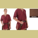 Viking Shirt, Brown, Medium Tunic