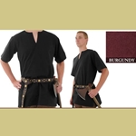 Medieval Tunic, Burgundy, Extra Extra Large