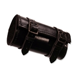Leather Sword Tube for LARP Swords Black Leather